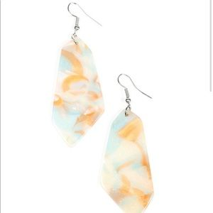 Walking On WATERCOLORS - Multi Earrings